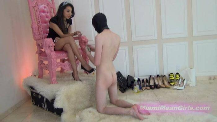 MiamiMeanGirls.com - Real domestic servitude with Princess Jennifer (Femdom) [HD, 720p]