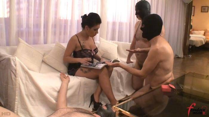 Lady Amazon - Three Ashtrays for Lady Amazon [FullHD, 1080p] - FemdomInsider