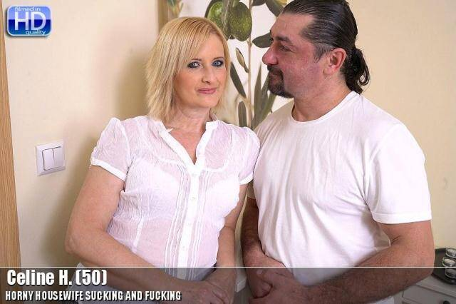Mature.nl - Celine H. (50) - Hot mom loves hard fuck! [SD, 540p]