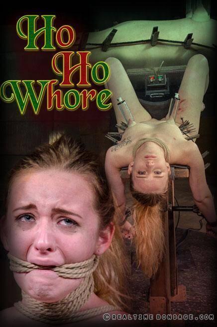 RealTimeBondage.com: Jessica Kay - Ho, Ho, Whore Part 3 - Torture and Pain! [HD] (2.00 GB)