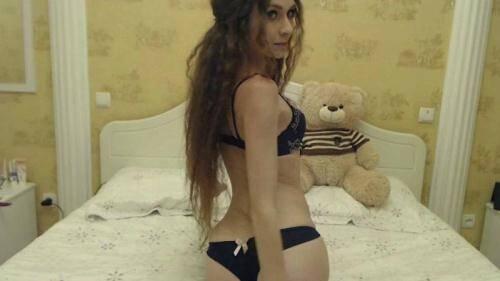 Anorexia [Skinny Young Angel Millajo - Innocent pleasure! Amateur Masturbation on Webcam!] SD, 540p)