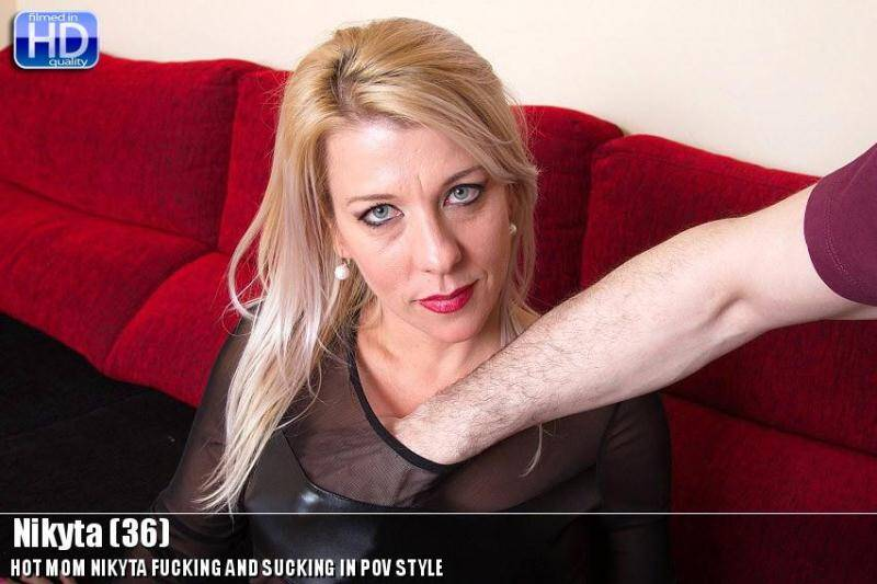 Nikyta (36) - Hardcore POV [SD] - Mature.nl, love-moms