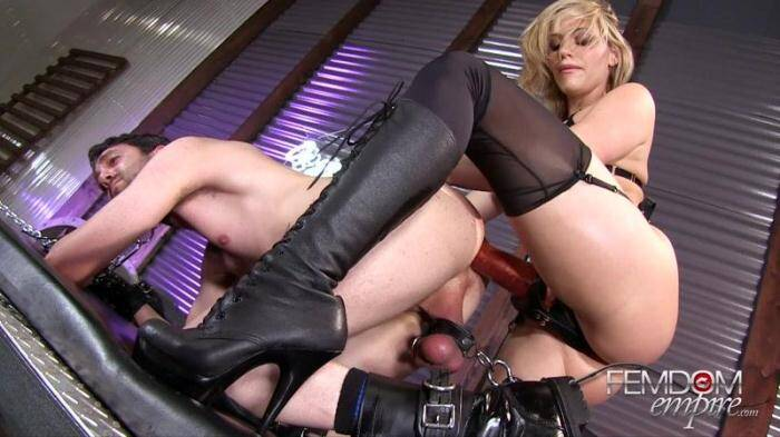 Stretched to Gape [Female Domination] 1080p