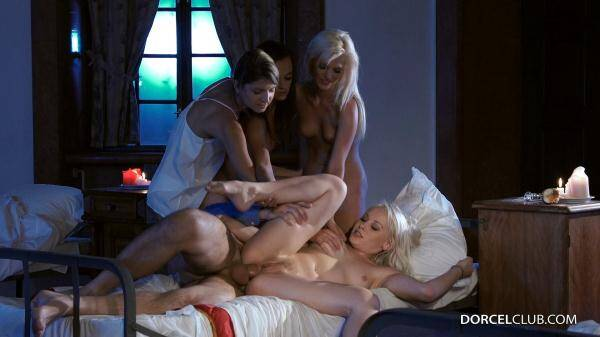 4 college girls get fucked in the dormitory by the supervisor - Lea Guerlin, Gina Gerson and other... (DorcelClub.com) [SD, 540p]