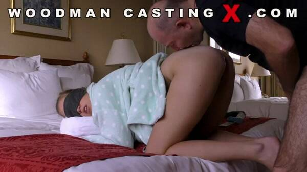 W00dm4nC4st1ngX.com - Eva Briancon - Anal on Casting! (Amateur) [SD, 480p]