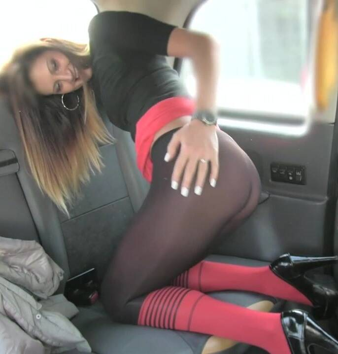 Sex in Taxi - Eva - Taxi seduction with anal sex  [HD 720p]