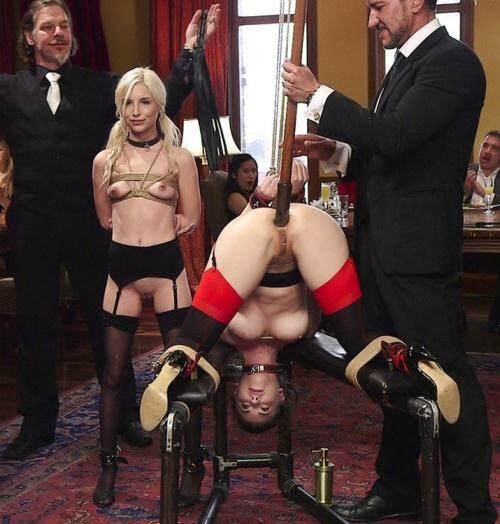 TheupperFloor.com/Kink.com - Casey Calvert, Piper Perri [Piper Perris Sex Slave Initiation] (SD 540p)