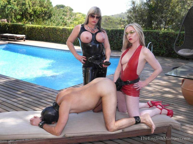Two MIstresses - Sunshine Strapons [HD] - Mansion