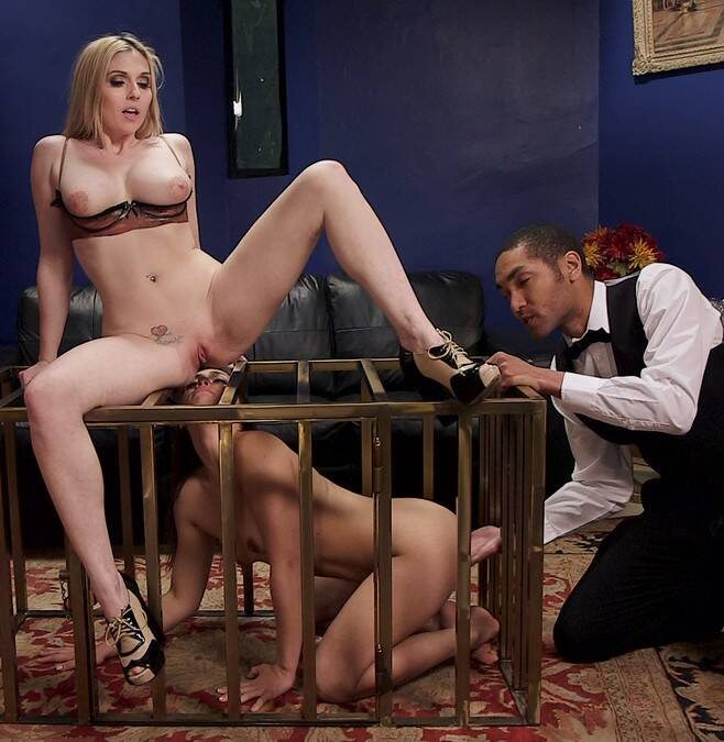 TheupperFloor.com/Kink.com - Christie Stevens, Sara Luvv - The Fuck Toy and The Anal Sex Doll  [HD 720p]