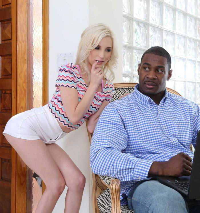 Office - Piper Perri - Interracial Porn  [HD 720p]