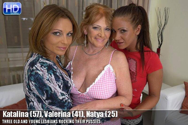 Mature.nl/old-and-young-lesbians.com: Katalina (57), Valerina (41), Natya (25) - Group lesbians sex! [SD] (786 MB)