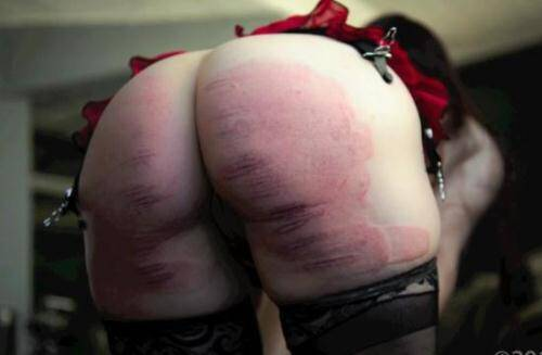 Spanking [Bliss Paddled Purple & Caned for Disobedience - Hard Spanked!] SD, 540p)