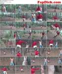 HARD LUNGE WORK AND BULLWHIPPING BY BARBARA (Clips4sale) HD 720p