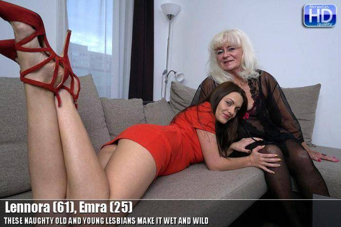 Mature.nl/Old-and-Young-Lesbians.com - Lennora (61), Emra (25) - Hot Lesbi - 20341 (Old Women) [SD, 540p]