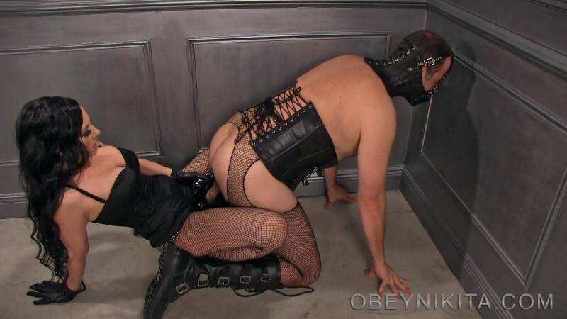 (slave / MP4) Fucked like a cheap whore - Femdom Anal Fuck! Obeynikita.com - FullHD 1080p