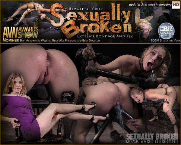 SexuallyBroken.com/RealTimeBondage.com: Stunning Mona Wales dicked down by BBC in tight bondage, massive squirting multiple orgasms! (11.01.2016/SD)