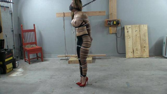 Asianastarr.com - Zip Tied Live Part 2 - Struggling in Zip Ties [FullHD, 1080p]