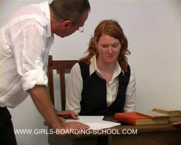 Girls boarding school - Justine - New resident Justine (Punishment) [SD, 576p]