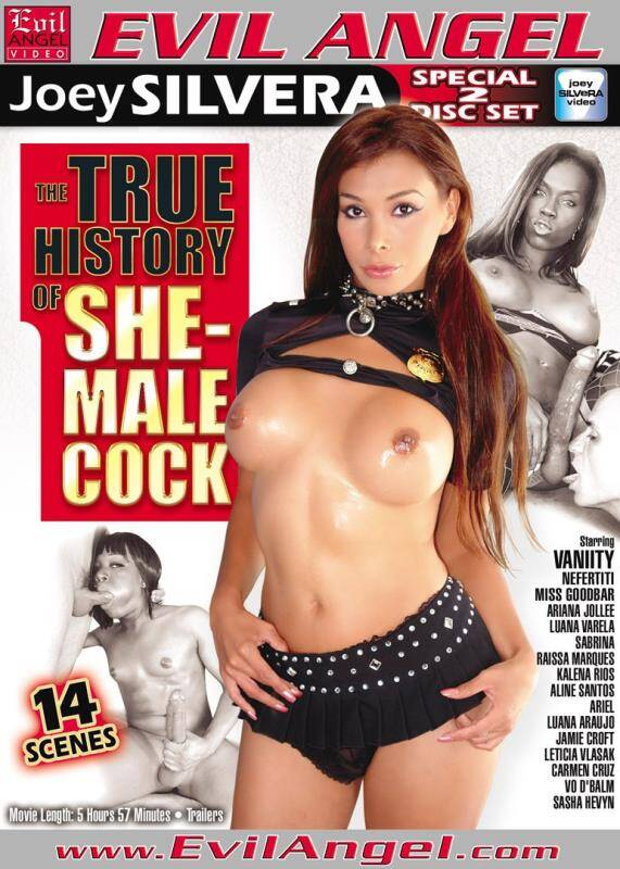 Evil Angel - Sabrina, Jamie Croft, Miss Goodbar - The True History Of SheMale Cock [2012 DVDRip]