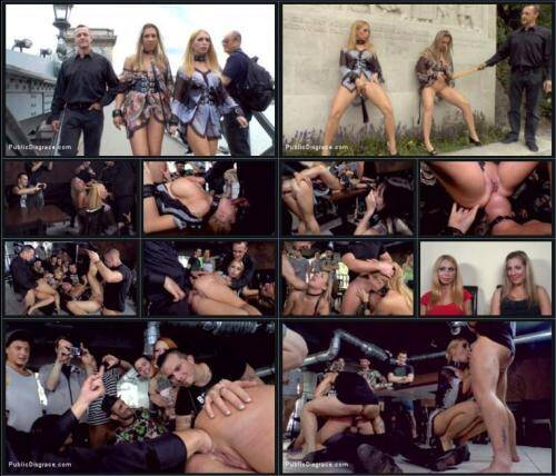 Isabella Clark and Mandy - Three Dicks, Two Lesbians and One Anal Fisting [SD, 540p] [PublicDisgrace.com] - BDSM
