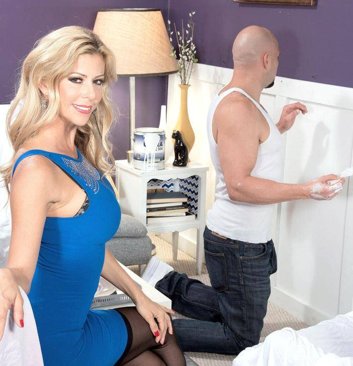 40SomethingMag.com/PornMegaLoad.com - Alexis Fawx - JMac Paints Alexis Face  [HD 720p]