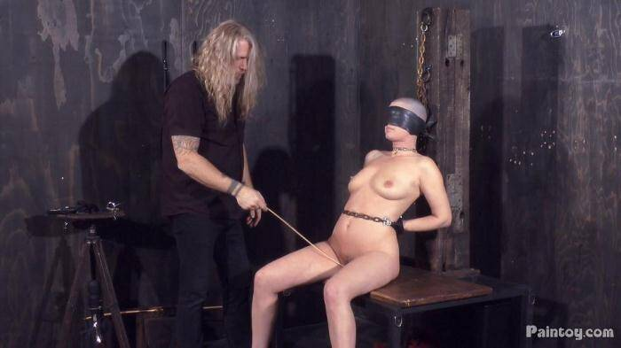 Paintoy: Abigail Dupree - Tied Young Girl Slave Abigail Dupree Caned (FullHD/1080p/466 MB) 21.01.2016