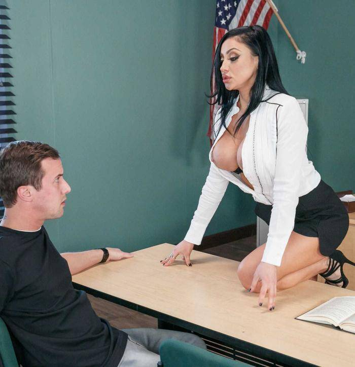 Tits School - Audrey Bitoni - My Dirty Talking Prof  [SD 480p]
