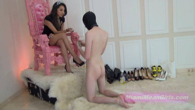 MiamiMeanGirls.com: Real domestic servitude with Princess Jennifer [HD] (1.68 GB)