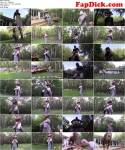 Teen Domina with her Slave in Garden! (Clips4Sale, BratPrincess) HD 720p