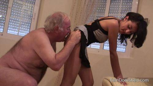 Worship my ass slave - Amateur Femdom [FullHD, 1080p] [Anilingus] - Femdom