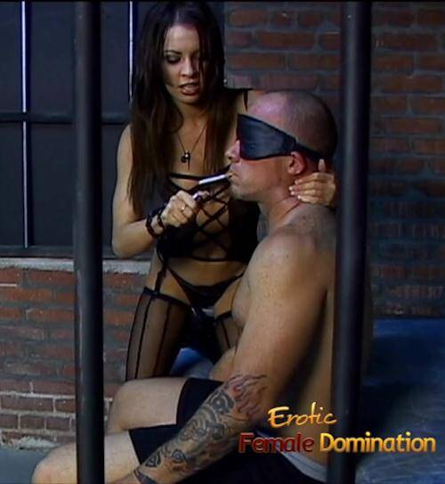EroticFemaleDomination.com - Vanessa Lane [Tattooed Slave Dominated In A Jail Cell] (FullHD 1080p)