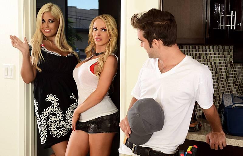Brazzers - Nikki Benz, Bridgette B - Professional Perv [2014 HD]