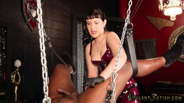 OpulentFetish.com - Mistress & Slave - Ass Blasting Forced O [HD, 720p]