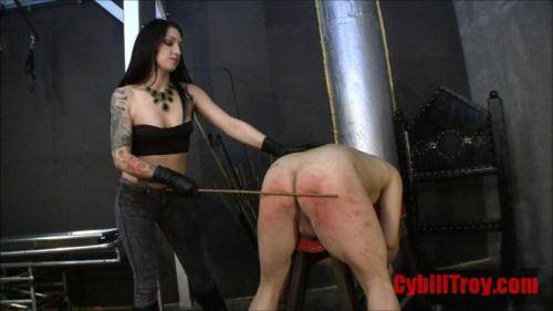 CybillTroy.com [Heartless Caning - Pain] SD, 480p)