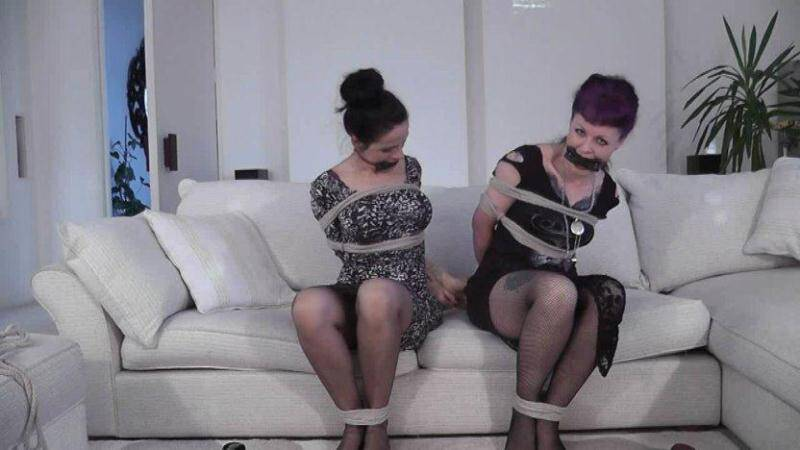 BondageChronicles.com: Helena, Lavinia, Elle - Loving This [HD] (218 MB)