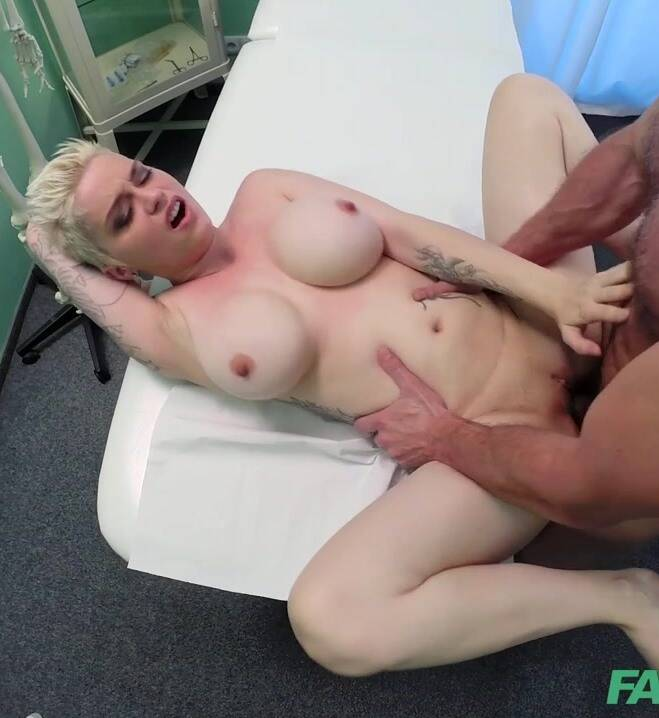 (Cumshot / mp4) Mila - Busty tattooed patient fucked hard  - SD 480p