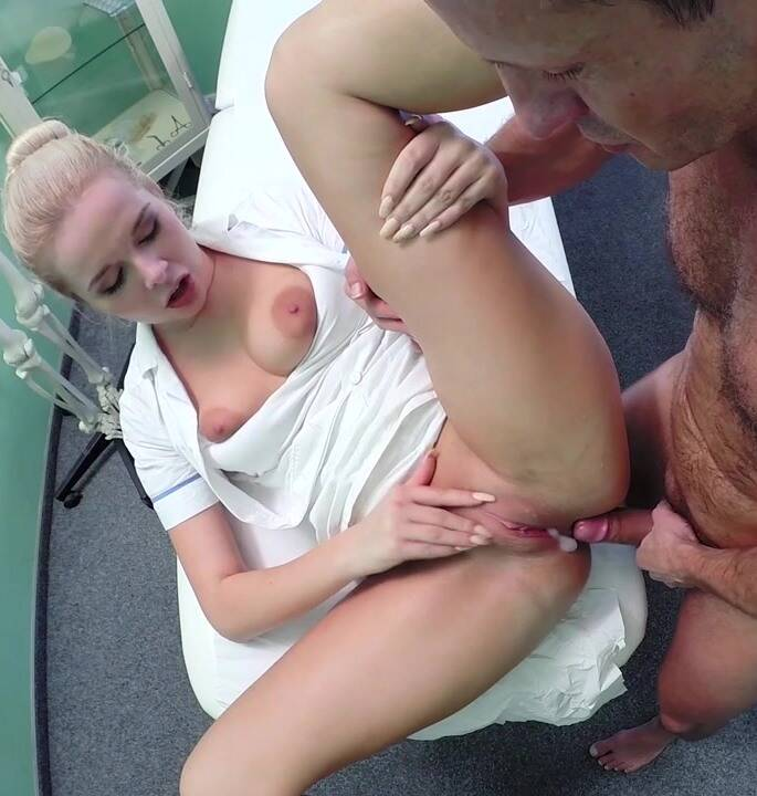 Hospital - Nikky - E218 Sexy nurse gets creampied by doctor [HD 720p]