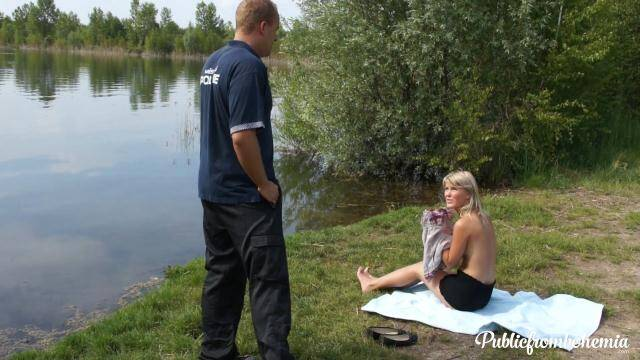 PublicFromBohemia/PornCZ - Helena - Paying fines with her cunt [FullHD 1080p]