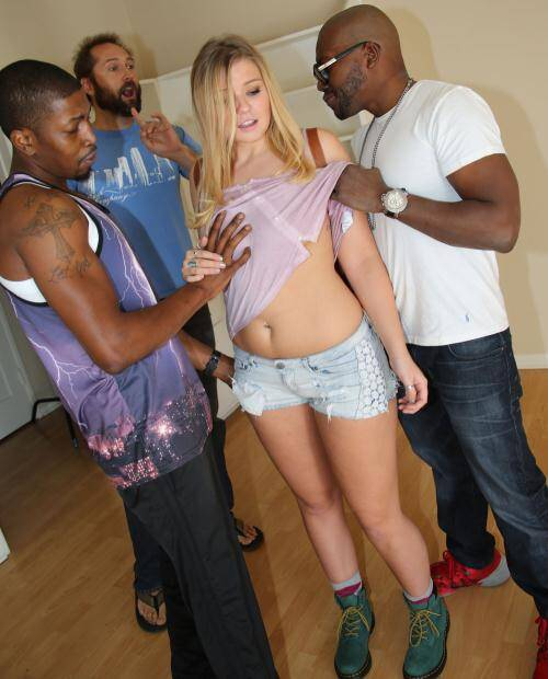 My Daughter Black - Melissa May [Gangbang Porn] (SD 432p)