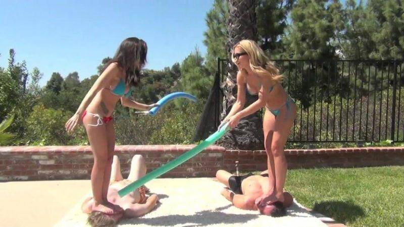 Goddesses Jousting [SD] - Clips4sale