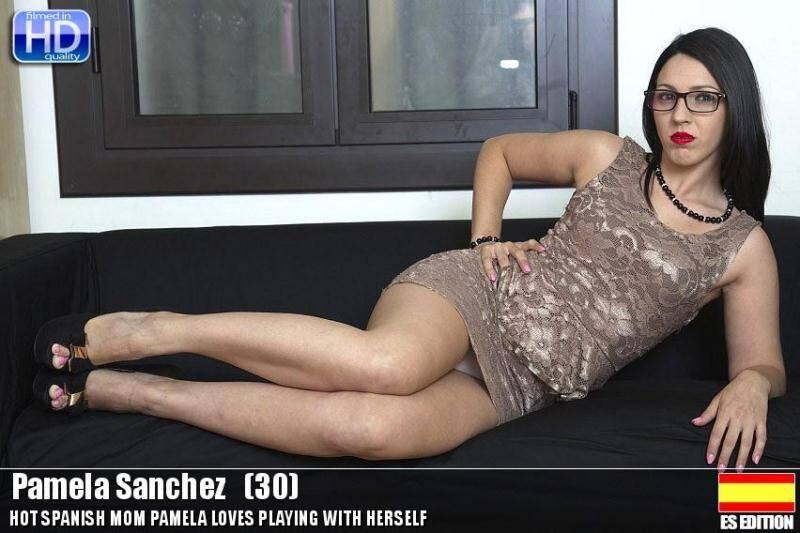 Pamela Sanchez (30) - Spanish Mom Masturbation [SD] - Mature.nl, Love-moms