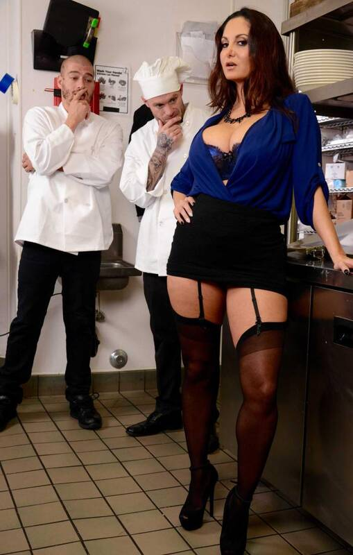 Tits Work - Ava Addams - The Fucking Food Inspector  [SD 480p]