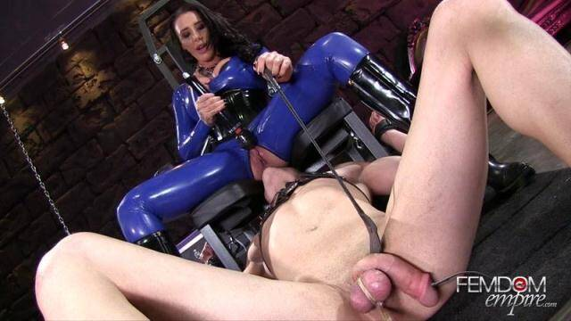 Female Domination - Balls Bound Pussy Licking! Oral Service! [FullHD, 1080p]