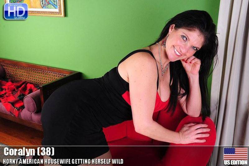 Coralyn (38) - Horny American Housewife [SD] - Mature.nl, usa-mature