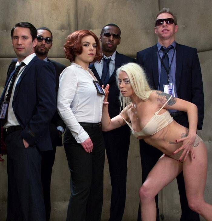 H4rdc0r3G4ngB4ng.com/Kink.com - Karlo Karrera - Mulder Loves Scully: A Sci Fi Gangbang  [SD 540p]