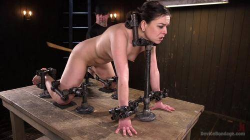 Juliette March - MORE THAN SHE CAN HANDLE [HD, 720p] [DeviceBondage.com] - BDSM