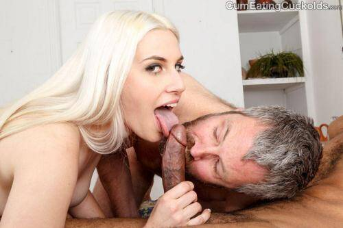 Niki Snow - The Gimp! Interracial! (10.02.2016/CumEatingCuckolds.com/FullHD/1080p)