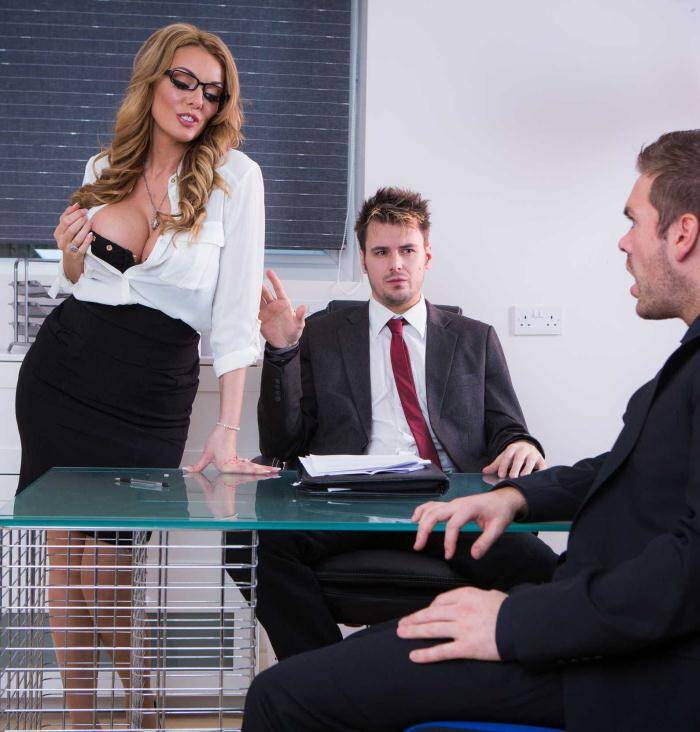 Tits Work - Stacey Saran - The Firm and the Fanny  [SD 480p]