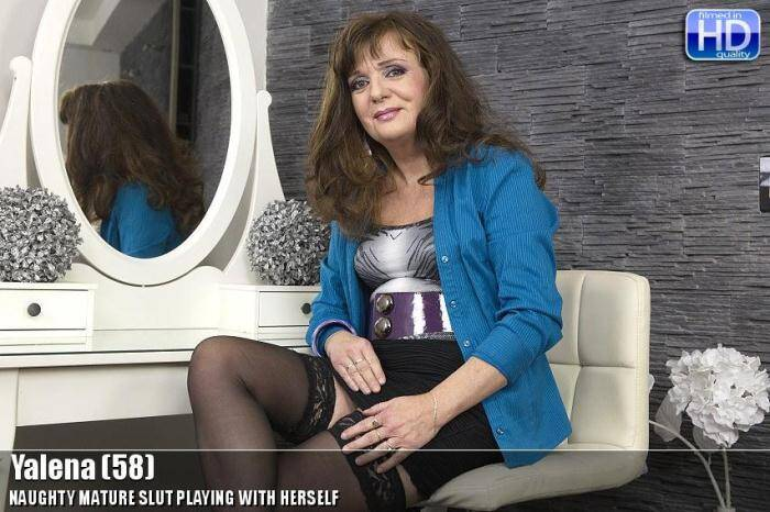 Yalena (58) - Masturbation! [SD, 540p] - Mature.nl