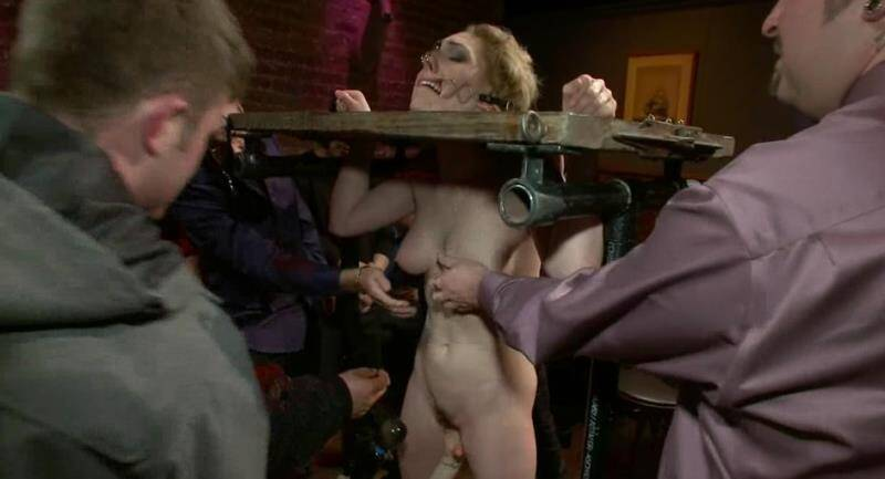 PublicDisgrace - Princess Donna Dolore, Lily LaBeau - Gorgeous 20 Year old Blonde Fucked and Degraded [2011 HD]